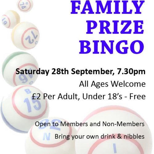 BVP Bingo Poster